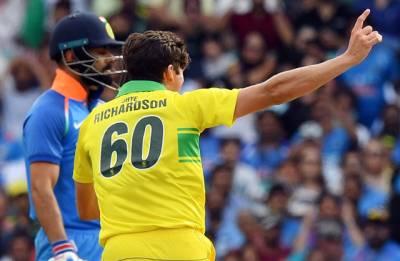 آسٹریلیا نے پہلے ون ڈے میں بھارت کو 34 رنز سے شکست دیدی