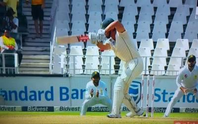 جوہانسبرگ ٹیسٹ ، دوسرے روز کا کھیل ختم ،جنوبی افریقہ نے دوسری اننگز میں 5 وکٹ پر 135 رنز بنالئے