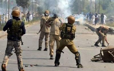 مقبوضہ کشمیر میں بھارتی فوج کی فائرنگ 2 کشمیری شہید