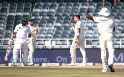 جوہانسبرگ ٹیسٹ، تیسرے روز کا کھیل ختم، پاکستان نے 3 وکٹوں کے نقصان پر 153 رنز بنالیے
