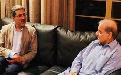 شہباز شریف سے سابق گورنر پنجاب کی ملاقات
