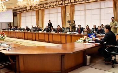 وزیراعظم عمران خان کی زیرصدارت وفاقی کابینہ کا اجلاس آج پھر ہوگا