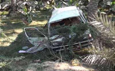 مظفرآباد:مسافر وین کھائی میں گرنے سے 5 افراد جاں بحق،4 زخمی