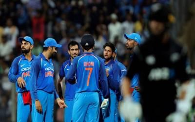 بھارت نے دوسرے ون ڈے میں بھی نیوزی لینڈکو شکست دے دی