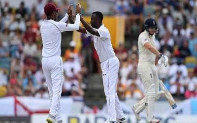 ویسٹ انڈیز نے انگلینڈ کو پہلے ٹیسٹ میں 381 رنز سے شکست دے دی