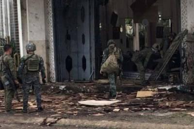 فلپائن میں چرچ کے نزدیک دو دھماکوں میں 27 افراد ہلاک