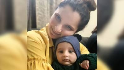 ثانیہ مرزا نے اپنے بیٹے اذہان کے ساتھ ایسی خوبصورت تصویر شیئر کردی کہ سوشل میڈیا پر دھوم مچ گئی