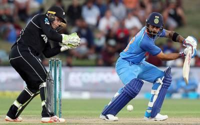 بھارت نے تیسرے میچ میں نیوزی لینڈ کو 7وکٹوں سے شکست دے کر سیریز اپنے نام کرلی