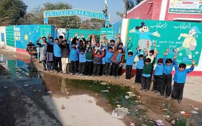 سیوریج کے گندے پانی کا عذاب، گورنمنٹ ہائی سکول کوٹ سادات کے طلباءاور اساتذہ کا بھرپور احتجاج، حکام سے نوٹس کا مطالبہ