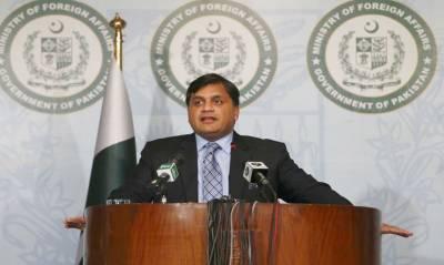 نریندر مودی کے دورہ مقبوضہ کشمیر سے پہلے بھارت بوکھلاہٹ کا شکار ہے :ترجمان دفتر خارجہ