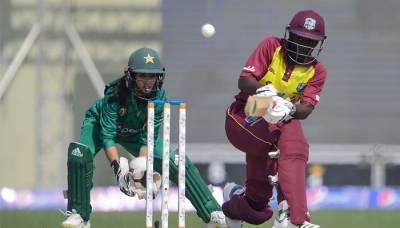 پاکستان ویمن ٹیم نے ویسٹ انڈیز کو تیسرے ٹی ٹوئنٹی میچ میں 12 رنز سے شکست دے دی