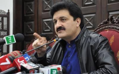 اجمل خان وزیر کی وزیراعظم کے معاون خصوصی زلفی بخاری سے ملاقات