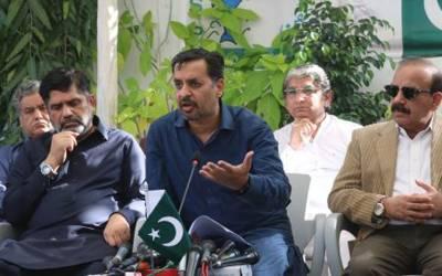 کراچی کی معیشت رکتی ہے تو پاکستان کی معیشت رکتی ہے،کیا چیف منسٹر کا کام ہے کہ وہ گٹر لائنوں اور کچرے کا انچارج ہو:مصطفی کمال