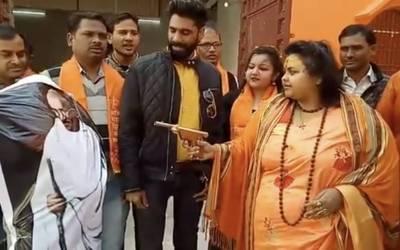 گاندھی کے مجسمے پر فائرنگ کرنے پر بی جے پی رہنما گرفتار