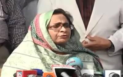 ینگ ڈاکٹرز بلیک میلنگ نہ کریں ورنہ نوٹیفکیشن میں مزید تاخیر ہوگی:صوبائی وزیرِصحت سندھ عذرا پیچوہو کی سخت وارننگ