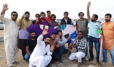 پاکستان میں پابندی اور سعودی عر ب میں دھوم دھام سے بسنت