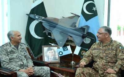 پاک فضائیہ ملکی دفاع میں ہر اول دستے کی حیثیت رکھتی ہے،جنرل زبیر محمود حیات کا ائیر ہیڈ کوارٹرز کا دورہ