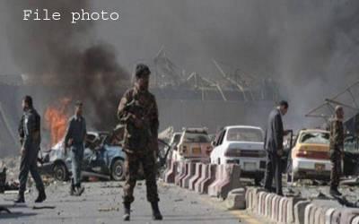 کابل میں متعدد دھماکے،صدارتی امیدوار سمیت 14 افراد زخمی