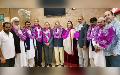 پیپلزپارٹی یو اے ای کے نائب صدر سید سجاد حسین شاہ کی جانب سے نومنتخب عہدیدار وں کے اعزاز میں ڈنر