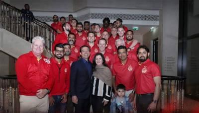 اسلام آباد یونائیڈ کی ٹیم کراچی پہنچ گئی