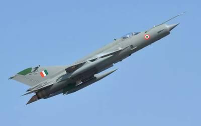 بھارت کا ایک اور مگ طیارہ تباہ ، پائلٹ محفوظ