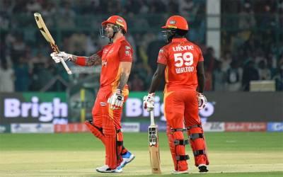 اسلام آباد یونائیٹڈ نے لاہور قلندرز کو شکست دے دی