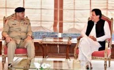 وزیراعظم عمران خان سے آرمی چیف کی ملاقات،ملک کی داخلی وخارجی سکیورٹی صورتحال پر تبادلہ خیال