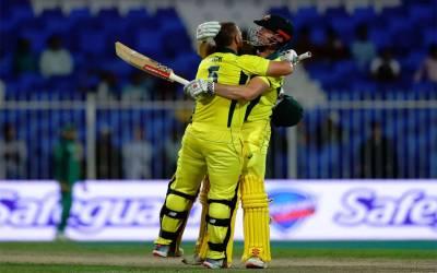 پہلا ون ڈے ،آسٹریلیا نے پاکستان کو با آسانی شکست دے دی
