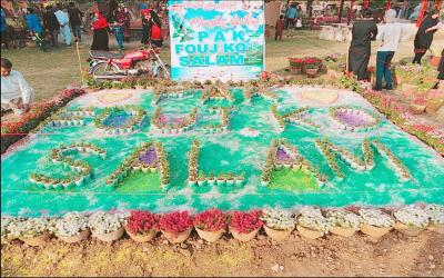 فیصل آباد کے شہریوں نے پاک فوج کی محبت میں ایسا کام کردیا کہ آپ کو بھی خوشی ہوگی