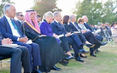 سعودی وزیر مملکت امور خارجہ عادل الجبیر کا دورہ نیوزی لینڈ، سانحہ کرائسٹ چرچ کے شہداء کی یاد میں منعقد ہ تقریب میں شرکت