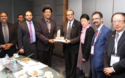 ہانگ کانگ کے تجارتی و کاروباری وفد کا پنجاب انفارمیشن ٹیکنالوجی بورڈ کا دورہ