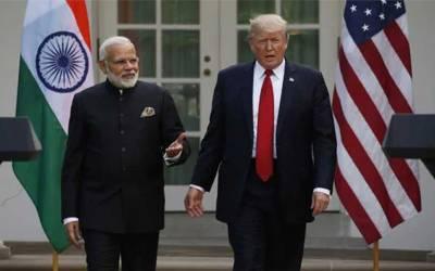 بھارت اور امریکہ کی دوستی اور گہری ہوگئی، امریکہ نے بڑا قدم اٹھالیا