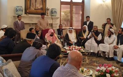 امت مسلمہ میں پاکستان کا کردار قابل قدر،پاک فوج نے دہشت گردی کیخلاف جنگ میں لازوال قربانیاں دیں: امام کعبہ ڈاکٹر شیخ عبداللہ عواد الجہنی