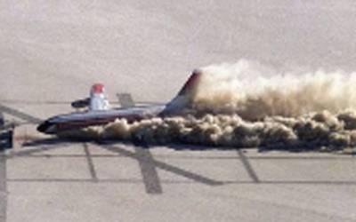 ماسکو ائیر پور ٹ پر مسافر طیارے کی کریش لینڈنگ ، ایک مسافر ہلاک ،4زخمی ہوگئے