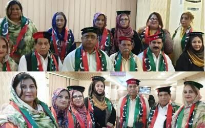 جنرل سیکرٹری پاکستان پیپلز پارٹی یو اے ای کی طرف سے نو منتخب عہدیداران کے اعزاز میں ایک ٹی پارٹی