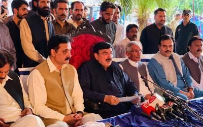 ملک اور عمران خان کو کمزور کرنے کی عالمی سازش ہو رہی،مسلم لیگ (ن) کی سیاست ''ہمیں لندن جانے دو'' تک رہ گئی:شیخ رشید احمد