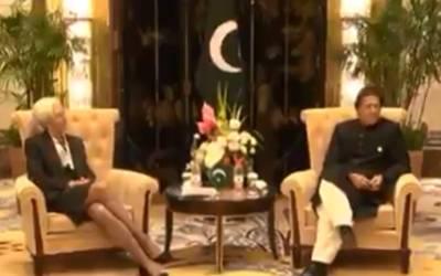 وزیر اعظم عمران خان کو آئی ایم ایف کی سربراہ کا ٹیلی فون، کس پاکستانی افسر کی تعریف کی ؟ جان کر آپ حیران رہ جائیں گے