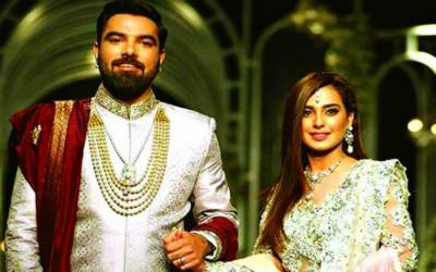 اداکار یاسر حسین کا سوشل میڈیا پر اقرا عزیز کے ساتھ منگنی کا اقرار