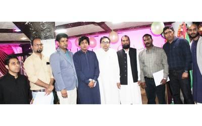 پاک سرزمین پارٹی کی طرف سے صحافیوں کے اعزاز میں افطار ڈنر