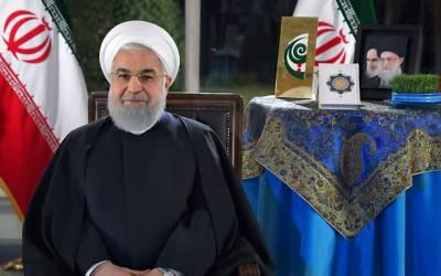 اب امریکا سے بات چیت ممکن نہیں :ایرانی صدر حسن روحانی