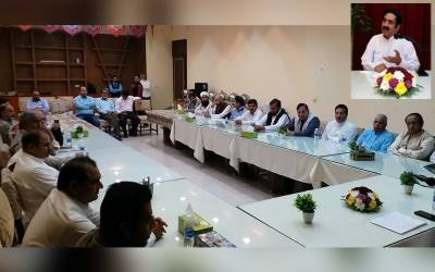 محفل حمد و نعت میں نامور نعت خواں محمد اصغر چشتی نے ماحول کو پرنور بنا دیا