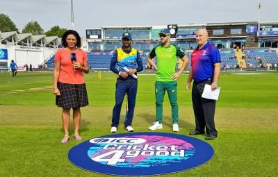 دوسرا وارم اپ میچ، سری لنکا کا جنوبی افریقہ کیخلاف ٹاس جیت کر باﺅلنگ کا فیصلہ