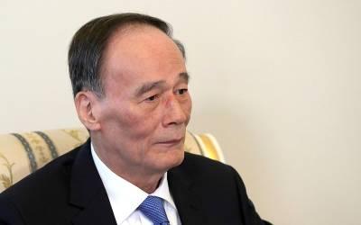 چین کے نائب صدر وانگ کشان تین روزہ دورے پر آج پاکستان پہنچیں گے