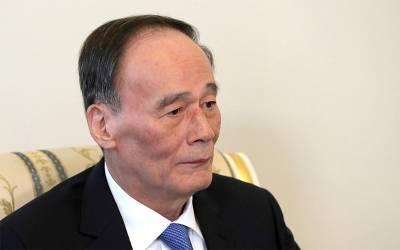چینی نائب صدر تین روزہ دورہ مکمل کر کے واپس وطن روانہ