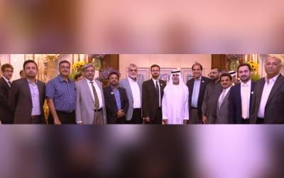 شیخ نہیان بن النہیان کو پاکستان بزنس کونسل دبئی کی طرف سے خصوصی بزنس ایونٹ میں شرکت کی دعوت