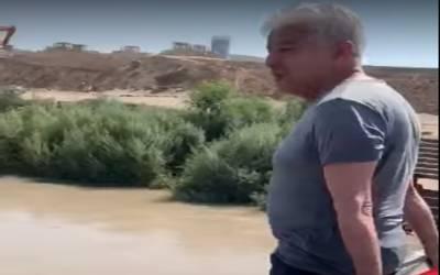 لیگی رہنما خواجہ آصف نے گرمی کا توڑ نکال لیا، ویڈیو وائرل