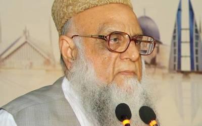 حکومت ایک ظالمانہ بجٹ پیش کرنے جارہی ہے,خان صاحب کو جن لوگوں نے اقتدار دلوایا وہ چھیننے کی طاقت بھی رکھتے ہیں: پروفیسر ساجد میر