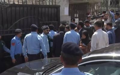 آصف زرداری کی گرفتاری،نیب کی ٹیم زرداری ہاﺅس میں داخل ہو گئی