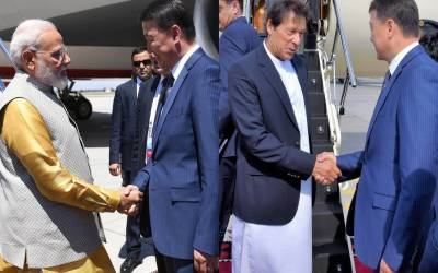 """"""" بھارت کی آبادی پاکستان سے ایک ارب زیادہ اور مودی کو لینے کرغزستان کا نائب وزیر اعظم آیا جبکہ عمران خان کو لینے وزیر اعظم آیا"""" بھارت میں صفِ ماتم بچھ گئی"""