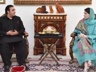 مریم نواز اور بلاول بھٹو زرداری کے درمیان ہونے والی ملاقات میں کن امور پر گفتگو اور کیا فیصلے ہوئے؟مسلم لیگ ن نے اعلامیہ جاری کر دیا
